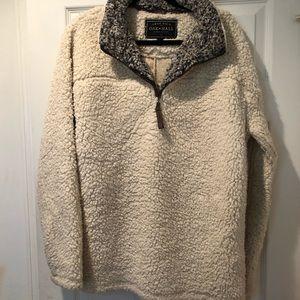 TRUE GRIT Cream Sweatshirt